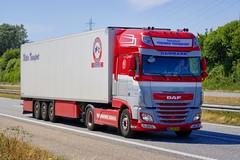 BL50449 (18.07.03, Motorvej 501, Viby J)DSC_4594_Balancer (Lav Ulv) Tags: 254911 daf dafxf xfeuro6 xf106 xf460 4x2 2017 wettertransport red grey e6 euro6 refrigeration schmitztrailer kühltransporte køletransport truck truckphoto truckspotter traffic trafik verkehr cabover street road strasse vej commercialvehicles erhvervskøretøjer danmark denmark dänemark danishhauliers danskefirmaer danskevognmænd vehicle køretøj aarhus lkw lastbil lastvogn camion vehicule coe danemark danimarca lorry autocarra danoise vrachtwagen motorway autobahn motorvej vibyj highway hiway autostrada trækker hauler zugmaschine tractorunit tractor artic articulated semi sattelzug auflieger trailer sattelschlepper vogntog oplegger sættevogn