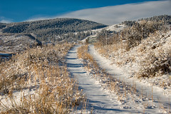 Powdered Sugar (RkyMtnGrl) Tags: landscape nature scenery mountains road clouds sky snow february colorado lyons 2019