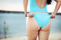 IMG_17959 (saver_ag) Tags: people outdoor portrait female back swimsuit nature blue