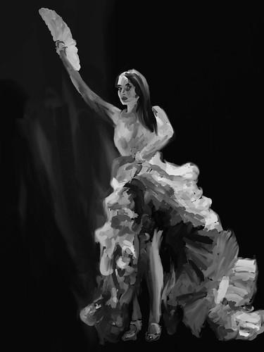 Flamenco Value Study