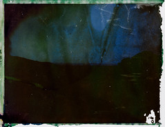 Night 5 (FP100c negative) (mmartinsson) Tags: 2018 night modelp instantfilm fujifilm 127mm negativescan negative longexposure mamiyasekor scan mamiyasekorp mamiyauniversal fp100c bleached polaroid epsonperfectionv700 film analoguephotography santateresadigallura sardegna italien it