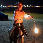 Fire on the shore thumbnail