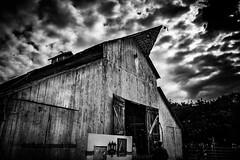 Barn (Rohit KC Photography) Tags: barn winery jessiesgrove lodi ca canon hdr blackandwhite bw dark edited vignette outdoors event canon5dmarkii canon24105mmf4l california