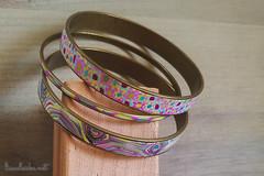 70/365 (lisaclarke) Tags: 365 3652019 bangles bracelets crafting crafts jewelry making pdcbanglebracelets photoprojects polkadotcottage polymerclay project365