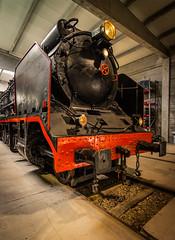 """""""La Bonita"""". (Ricardo Pallejá) Tags: nikon d500 tokina1116 turismo tarragona ferrocarril locomotora tren decay old viejo museo antiguo"""