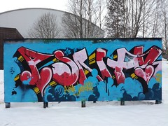 Kalevan taidekolmio (Thomas_Chrome) Tags: graffiti streetart street art spray can wall walls fame gallery kaleva taidekolmio tampere suomi finland europe nordic legal