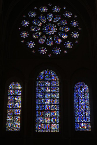 Chartres Cathedral Stained Glass 4