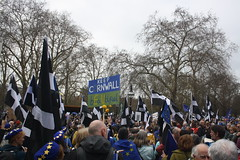 Put it to the People March (lazy south's travels) Tags: london england english britain british uk europe european banner flag brexit protest politics political democracy