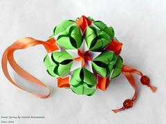 Happy holiday, girls! (irina_chisa) Tags: origami kusudama