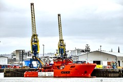 Esvagt Champion - Aberdeen Harbour Scotland - 1st April 2019 (DanoAberdeen) Tags: esvagtchampion candid amateur 2019 aberdeen harbour psv ship shipping abdn abz uk gb seaport offshore pocraquay autumn summer winter spring northsea northeast scotland water bluesky transport marineoperationscentre grampian oilrigs oilships geotag tug tugboats cargoships supplyships danoaberdeen danophotography aberdeencity aberdeenscotland sailing workboats marine mariner esvagtkappa seafarers shipspotting aberdeenharbour errv oilandgas footdee fittie northpier dock sealife clouds golden seascape shippingworldwide haulage lifeatsea outdoors ecosse watercraft