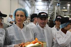 """José Silvano em visita à fábrica """"A Poveira"""""""
