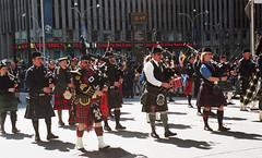 NYC Tartan Day Parade (neilsonabeel) Tags: nikonn90s nikon nikkor parade film analogue newyorkcity manhattan