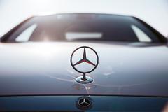 Mercedes-Benz (FOXTROT|ROMEO) Tags: mercedes mercedesbenz benz star stern car auto sun sundown sunrise lights reflections