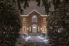 Government House on a Snowy Night (jtgfoto) Tags: approved annapolis snow snowy nightscape nightlights dta downtownannapolis annearundelcounty maryland naptown sonyimages sonyalpha cityscape zeiss facade framing governmenthouse governorsmansion
