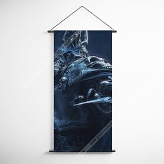 WOW - World of Warcraft 08 Lich King Decorative Banner Flag for Gamers (gamewallart) Tags: background banner billboard blank business concept concrete design empty gallery marketing mock mockup poster template up wall vertical canvas white blue hanging clear display media sign commercial publicity board advertising space message wood texture textured material wallpaper abstract grunge pattern nobody panel structure surface textur print row ad interior