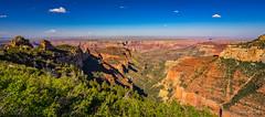 Vista Encantada (NettyA) Tags: 2017 grandcanyon grandcanyonnationalpark northrim sonya7r usa travel vistaencantada lookout panorama walhallaplateau arizona