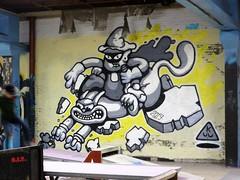 KUU / De Wasserij - 20 mar 2019 (Ferdinand 'Ferre' Feys) Tags: gent ghent gand belgium belgique belgië streetart artdelarue graffitiart graffiti graff urbanart urbanarte arteurbano ferdinandfeys