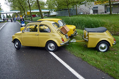FIAT NUOVA 500R 1973 with customized trailer (1060215) (Le Photiste) Tags: clay fiatspafabbricaitalianaautomobilitorinofiatturinitaly fiatnuova500r cf italianicon italiancar oddvehicle oddtransport rarevehicle simplyyellow lelystadthenetherlands thenetherlands 95ya02 panasonic panasonicdmcfx30 perfectview afeastformyeyes aphotographersview autofocus artisticimpressions alltypesoftransport anticando blinkagain beautifulcapture bestpeople'schoice bloodsweatandgear gearheads creativeimpuls cazadoresdeimágenes carscarscars carscarsandmorecars digifotopro damncoolphotographers digitalcreations django'smaster friendsforever finegold fairplay fandevoitures greatphotographers groupecharlie peacetookovermyheart hairygitselite ineffable infinitexposure iqimagequality interesting inmyeyes livingwithmultiplesclerosisms lovelyflickr myfriendspictures mastersofcreativephotography niceasitgets photographers prophoto photographicworld planetearthbackintheday planetearthtransport photomix soe simplysuperb showcaseimages slowride simplythebest thebestshot thepitstopshop themachines theredgroup thelooklevel1red transportofallkinds vividstriking wow wheelsanythingthatrolls yourbestoftoday simplybecause