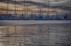 Winter Sun S Harbor 116 (Gillfoto) Tags: aukebay statterharbor harbor alaska juneau winter ice water boat sailing