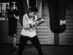 GFX0251 - Bag (Diego Rosato) Tags: bag sacco allenamento training bianconero blackwhite fuji gfx50r fujinon gf63mm rawtherapee xwinter boxe boxing pugilato boxelatina