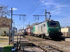 BB 27072 et autoroute ferroviaire (SylvainBouard) Tags: fret prima bb27000 railway train sncf