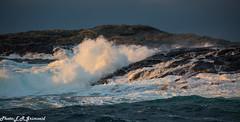 Golta (2000stargazer) Tags: golta golten sotra hordaland norway nortsea waves seashore coast water sea light nature landscape canon
