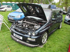 Ford Escort RS Cosworth K5CSY (Andrew 2.8i) Tags: classic classics cars car show singleton park swansea 2015 rally european euro sports sportscar turbo hatch hot hatchback cossie cosworth rs escort ford