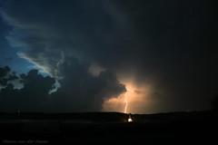 Transylvania Lightning (mesocyclone70) Tags: lightning electricity romania storm thunderstorm landscape church village