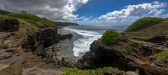 Roche Qui Pleure viewpoint, Mauritius / Смотровая площадка Ля-Рош-ки-Плер (Плачущая Скала) (dmilokt) Tags: природа nature пейзаж landscape песок sand цвет color colour пляж beach море океан sea ocean dmilokt панорама panorama