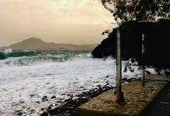 stormy...! (panoskaralis) Tags: wind winter waves beach fygokentrosbeach shower coast coastline foam sea seascape seaview water waterfront outdoor landscape skyclouds sky evening aegean aegeansea stormy storm lesvosisland lesvos mytilene greece greek hellas hellenic nature greekisland greeknature nikoncoolpixb700 nikon nikonb700
