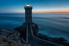 Dusk on lighthouse (2) (Patrick ARFI) Tags: lights lighthouse france paysage landscape finistère light kermorvan bretagne phare coast seascape brittany littoral leconquet dusk