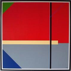 KONSTRUKTION GRAU-ROT  2018 (HolgerArt) Tags: konstruktivismus gemälde kunst art acryl painting malerei farben abstrakt modern grafisch konstruktiv