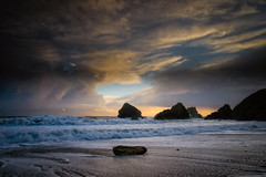 Ballydowane, Waterford, Feb 19 (Pat Kelleher) Tags: ballydowane ireland irelandsancienteast seascape landscape light