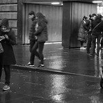 Leaving the Museum on a Wet Night thumbnail