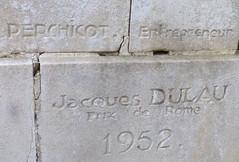 Monument à François Baco, rénovateur du vignoble français, à Bélus, Landes. (Marie-Hélène Cingal) Tags: france sudouest aquitaine nouvelleaquitaine 40 landes bélus baco