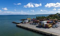 Antsiranana, Madagascar / Анциранана, Мадагаскар (dmilokt) Tags: природа nature пейзаж landscape море sea небо sky dmilokt порт port