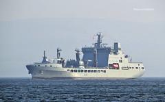 RFA Tideforce (Zak355) Tags: rothesay isleofbute bute scotland scottish naval royalnavy rfatideforce rfatiderace a139 a137 riverclyde shipping ship boat vessel fueltanker