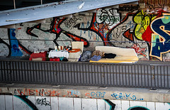 20190215-051 (sulamith.sallmann) Tags: architektur bauwerk behmbrücke behmstrasenbrücke berlin brücke deutschland europa obdachlos pankow prenzlauerberg strasenszene streetscene sulamithsallmann