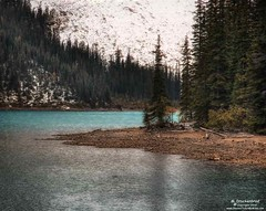 The Rocky Lakeshore of Moraine Lake in Banff National Park, Alberta (PhotosToArtByMike) Tags: morainelake rocky lakeshore banff banffnationalpark valleyofthetenpeaks canadianrockies albertacanada mountain mountains emeraldlake tenpeaks bluegreen turquoisecoloredwater