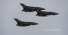 3 Tornado GR4s flypast over RAF Valley (tomdavies19) Tags: avgeek nikon d7200 nikond7200 sigma frewelltonka flypast helicopter aviation raf wales anglesey uk tornado plane jet aircraft explore rafvalley goldstar rafmarhem