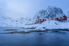 Mauro Amoroso © (Mauro_Amoroso) Tags: hamnoy norway norvegia landscape mauroamorosoadventures nikon nikonitalia nital nationalgeographic natgeocreative natgeotravel ice winter house nikkor night thunder snow awesome landscapes waterscapes water cloud bluehour light cold lamp explore exploring adventures adventure bridge