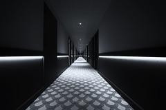 Le couloir (Jacques Isner) Tags: hotel laléchère savoie pentax pentaxart pentaxflickraward pentaxk1 samyang14mm samyang architecture graphique jacquesisner