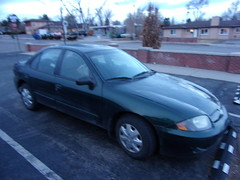100_1115 (f l a m i n g o) Tags: car thoughts life anniversary morning bought used march 2016 2019 3yearsago kodak pointandshoot broken dented beatup 36446