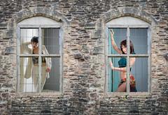 In the frame.jpg (Stephen B Jessop) Tags: stone olympus england window mariejane natalia model wall frame stephenbjessop em5mk2