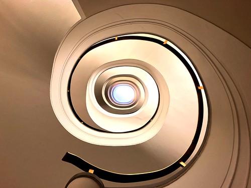 I found a snail staircase
