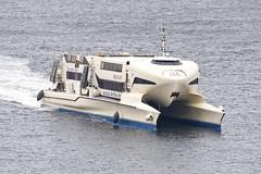 They come in all sizes and shapes (Svein K. Bertheussen) Tags: split croatia kroatia skip ship highspeedvessel hurtgbåt sjø hav vann sea water