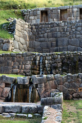 Cusco, Peru | Tambomachay Water Temple 02 (Christopher James Botham) Tags: peru peruvian southamerica southamerican south america american latinamerica latinamerican latin inca inka incan inkan ruin architecture history historic ancient building structure stone cusco
