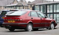 P186 MHJ (Nivek.Old.Gold) Tags: 1997 saab 900 xs 23 auto 5door