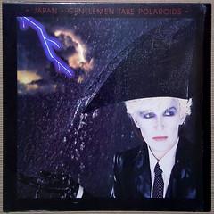 Japan - Gentlemen Take Polaroids [1980] (renerox) Tags: japan davidsylvian newwave artrock lp lpcovers records vinyl