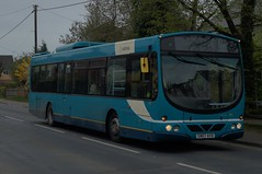 Last Stand: Arriva Colchester Volvo B7RLE/Wright Eclipse Urban GN07AVD (3817) Dunmow Road Little Canfield 06/04/19 (TheStanstedTrainspotter) Tags: arriva arrivakentthameside bus buses stansted stanstedairport colchester arrivacolchester essex arrivaessex rayne felsted greatdunmow braintree takeley volvo b7rle wrightbus eclipse urban wrighteclipseurban gn07avd 3817 a120 dunmowroad sapphire 133 littlecanfield